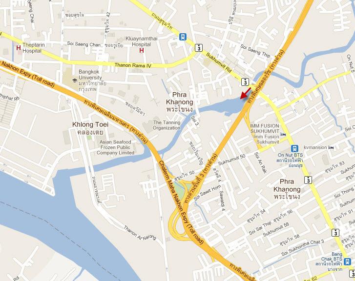 Khlong Map