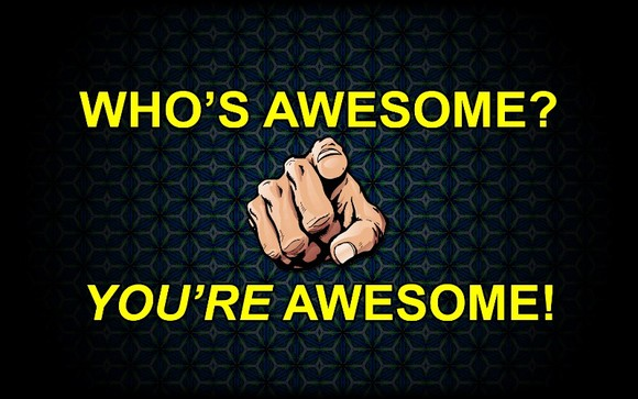 What makes someone awesome?